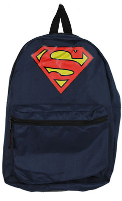 Superman Logo - DC Comics Reversible Backpack