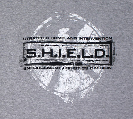 Grunged Stamp - Agents Of S.H.I.E.L.D. T-shirt