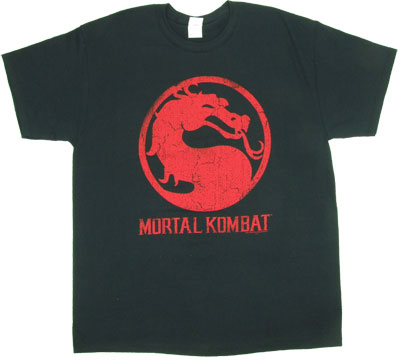 Mortal Kombat Logo - Mortal Kombat T-shirt