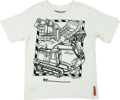 Construction Color My Tee T-shirt