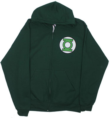 Green Lantern Logo - DC Comics Hooded Sweatshirt