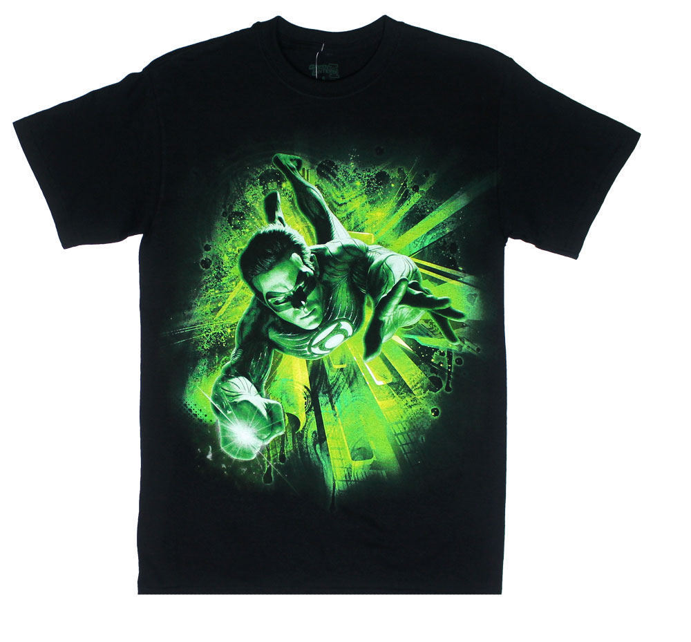 Emerald Energy - The Green Lantern T-shirt