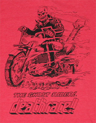 Deathrace - Ghost Rider - Marvel Comics Sheer T-shirt