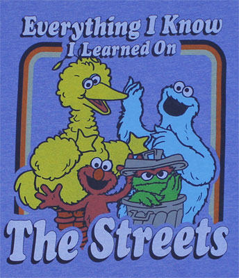 Everything I Know - Sesame Street Sheer T-shirt