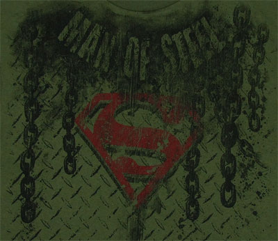 Man Of Steel - Superman - DC Comics T-shirt