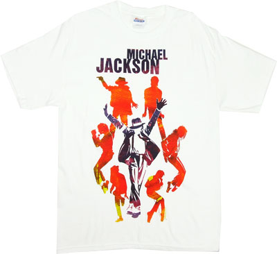 Silhouettes - Michael Jackson T-shirt