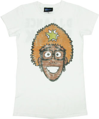 DJ Lance Rock - Yo Gabba Gabba - Junk Food Women's T-shirt