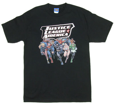 Charging Justice - DC Comics T_shirt
