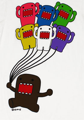 Balloon Animals - Domo-Kun Sheer Women's T-shirt