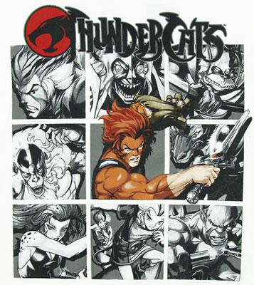 Shadowed Boxes - Thundercats T-shirt