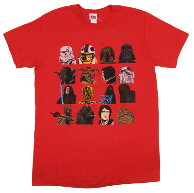 Character Faces - Star Wars Sheer T-shirt