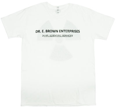 Dr. E Brown Enterprises - Back To The Future Sheer T-shirt