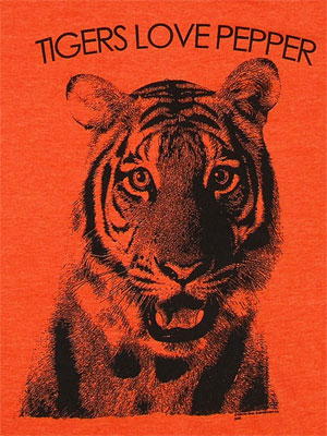 Tigers Love Pepper - The Hangover Sheer T-shirt
