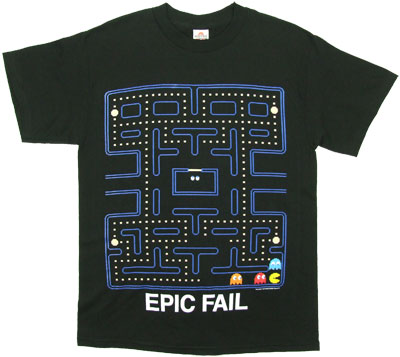 Epic Fail - Pac-Man T-shirt