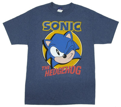 Winking - Sonic The Hedgehog T-shirt