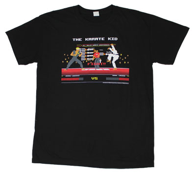 Eight Bit Kid - Karate Kid Sheer T-shirt