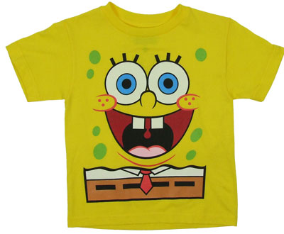 Spongebob Squarepants Juvenile T-shirt