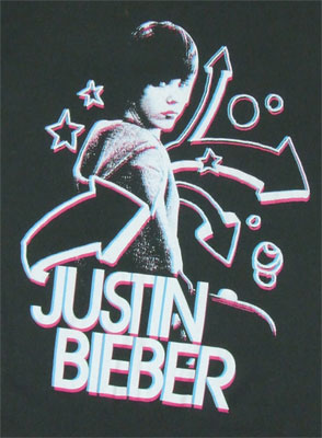 3D - Justin Bieber Sheer Women's T-shirt