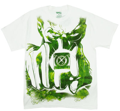 Big Fist - The Green Lantern T-shirt