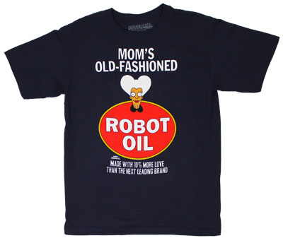 Mom&#039;s Old-Fashioned Robot Oil - Futurama T-shirt