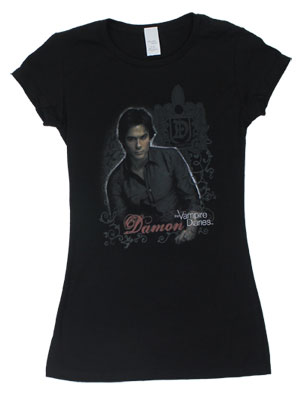 Damon - Vampiire Diaries Sheer Women&#039;s T-shirt