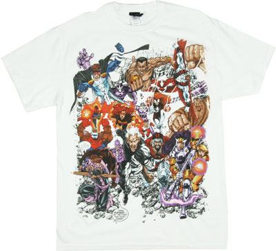 Too Much Posse - Marvel Comics T-shirt