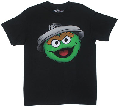Oscar Big Head - Sesame Street T-shirt
