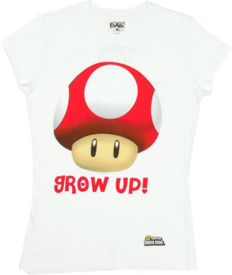 Grow Up - Nintendo Sheer Women&#039;s T-shirt                