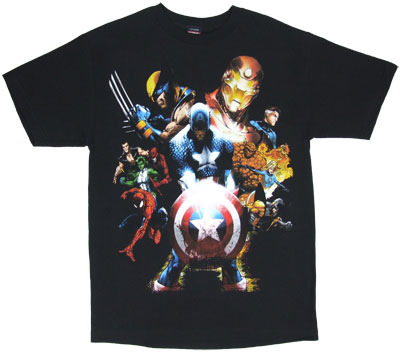 Soldiers Revenge - Marvel Comics T-shirt