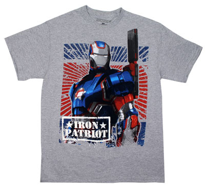 Iron Patriot - Iron Man 3 T-shirt