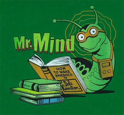 Mr. Mind - DC Comics T-shirt