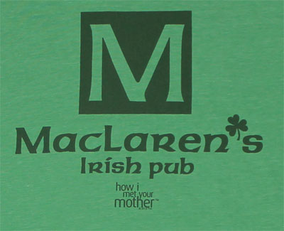 MacLaren's Irish Pub - How I Met Your Mother Sheer T-shirt