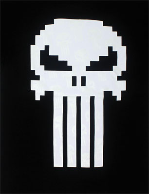 Pixel Punisher - Marvel Comics T-shirt