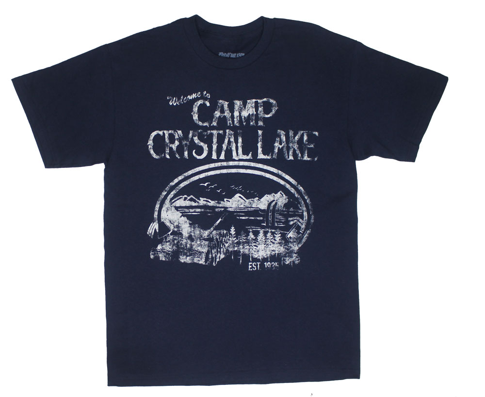 Camp Crystal Lake - Friday The 13th T-shirt