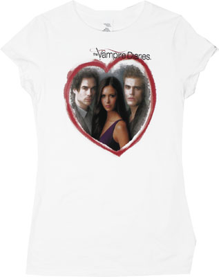 Girl's Choice - Vampire Diaries Sheer Women's T-shirt