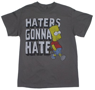 Haters Gonna Hate - Simpsons T-shirt