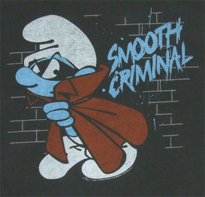 Smooth Criminal - Junk Food Men's T-shirt