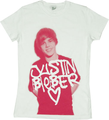 Graffiti Justin - Justin Bieber Sheer Women's T-shirt