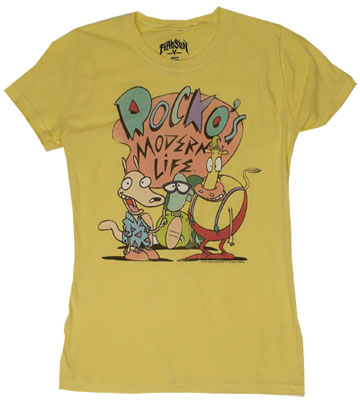 Rocko&#039;s Modern Life Sheer Women&#039;s T-shirt