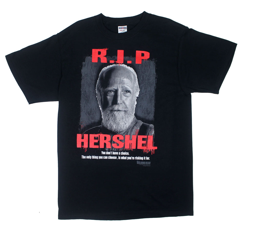 R.I.P. Hershel - Walking Dead T-shirt