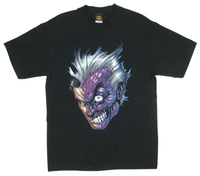 Two Face's Face - DC Comics T-shirt
