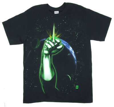 Fist In Space - Green Lantern - DC Comics T-shirt