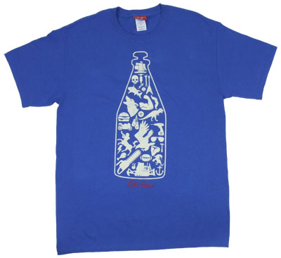 Silhouette Bottle - Old Spice T-shirt