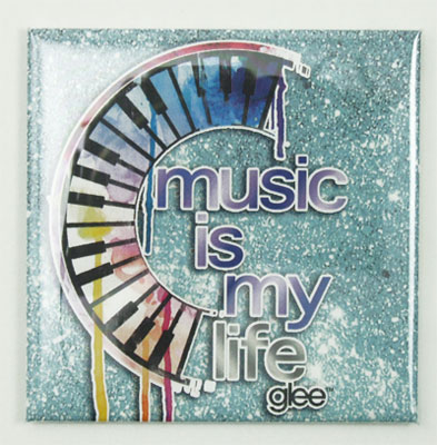Music Is My Life - Keychain Magnet