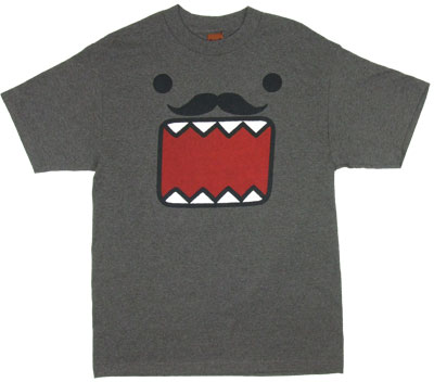 Domo Stache - Domo-Kun T-shirt
