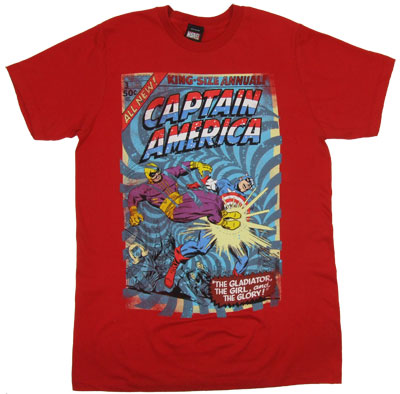 The Glory - Captain America Sheer T-shirt