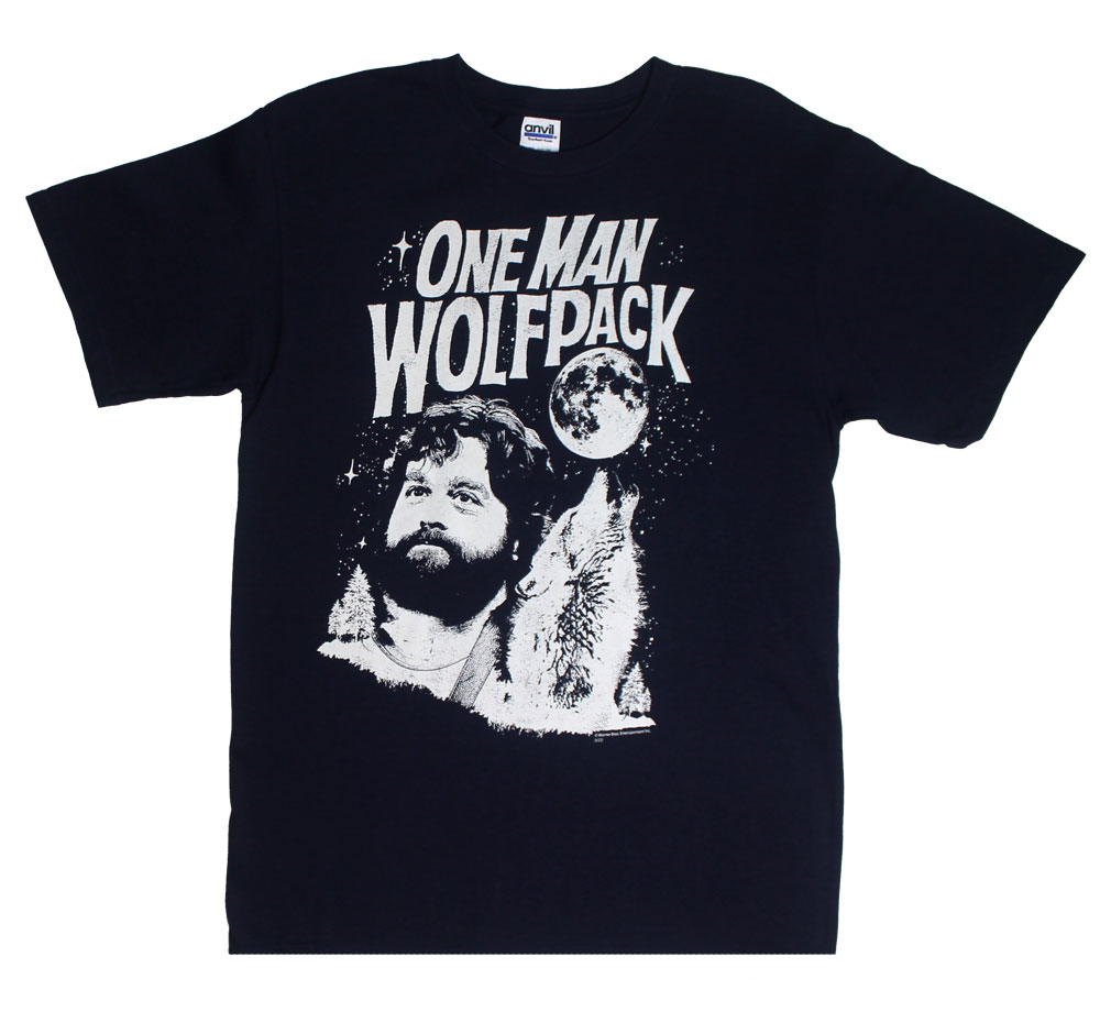 One Man Wolf Pack - The Hangover T-shirt