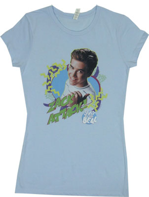 Zack Attack - Saved By The Bell Sheer Women's T-shirt