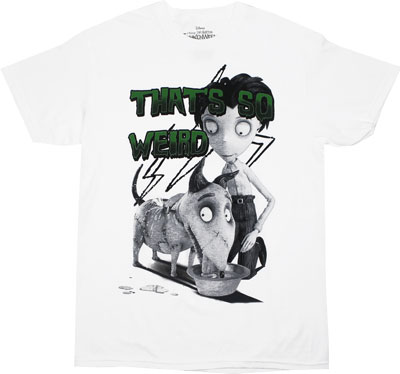 That&#039;s So Weird - Frankenweenie T-shirt