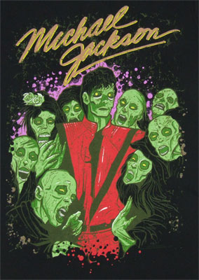 Zombie Crew - Michael Jackson Sheer Women's T-shirt